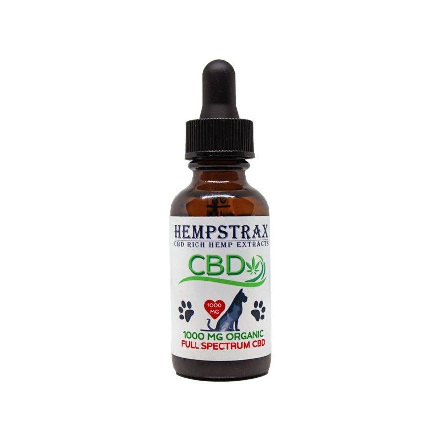 Hempstrax Full Spectrum Pet CBD Oil