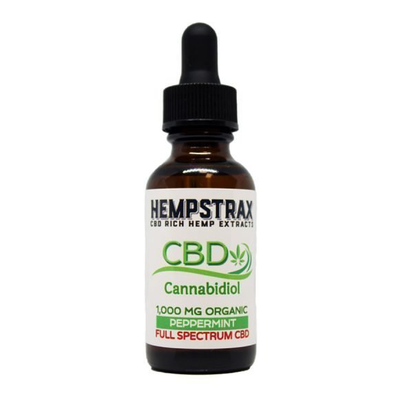 1000mg Full Spectrum Hemp CBD Oil