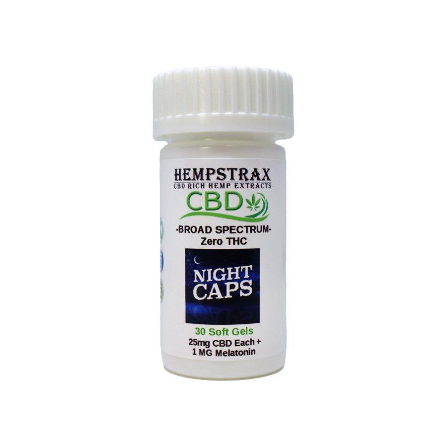 Hempstrax CBD Nighttime Capsules