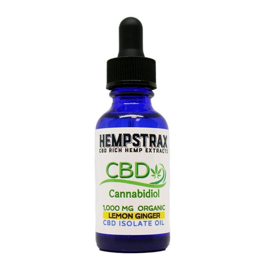Hempstrax Isolate Hemp CBD Oil