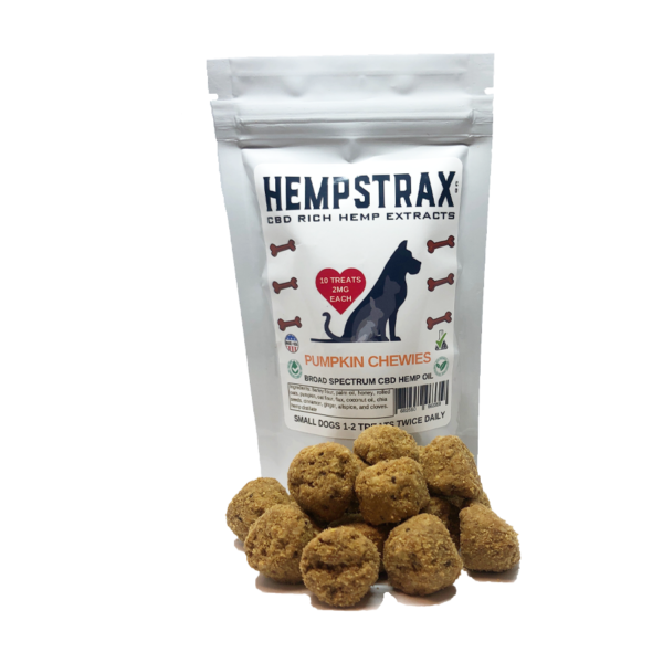 Pumpkin CBD Dog Treats