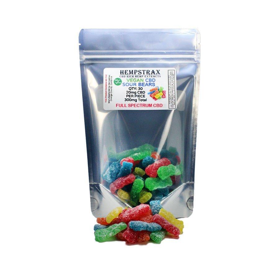 Hempstrax CBD Gummy Bears