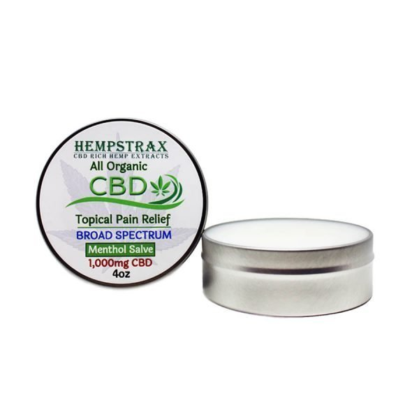 Broad Spectrum CBD Salve