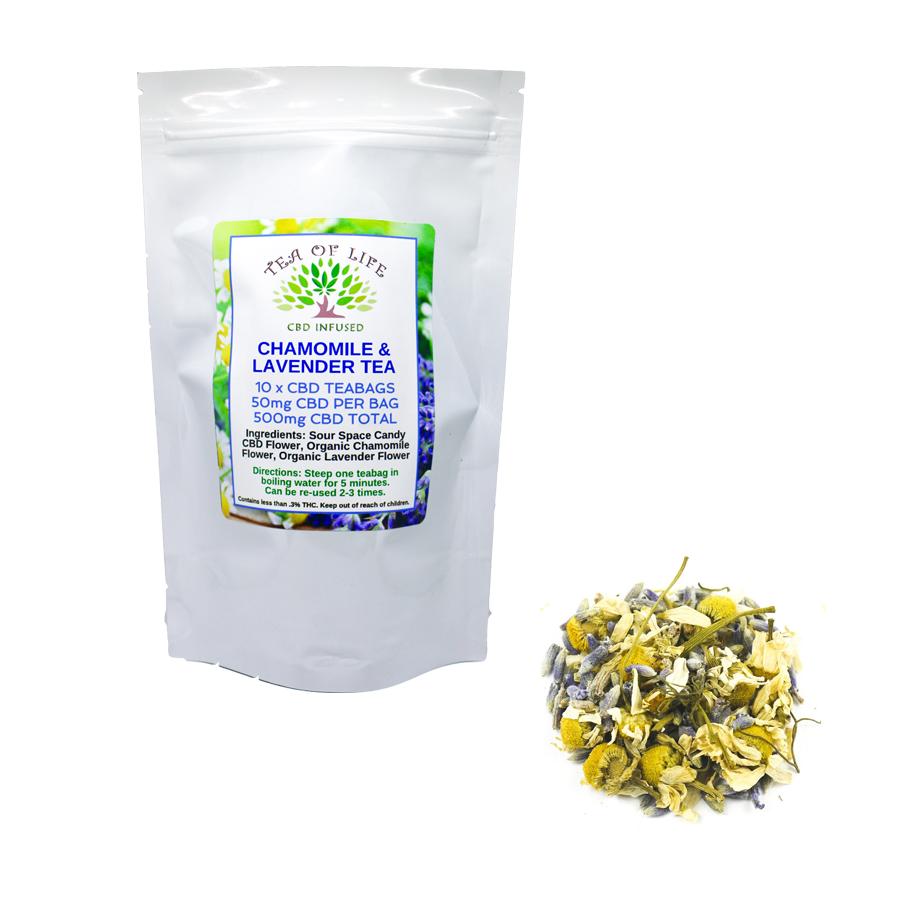 Chamomile Lavender CBD Tea