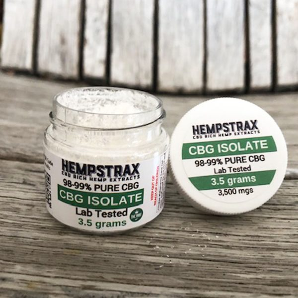 Hempstrax CBG Isolate
