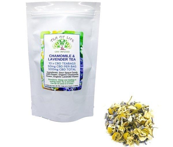 Chamomile & Lavender CBD Tea
