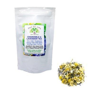 Chamomile & Lavender CBD Teabags