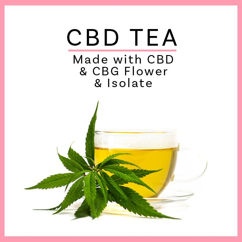 Hempstrax CBD Tea with CBG