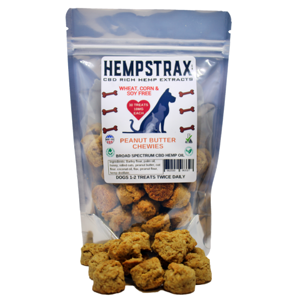 Hempstrax Peanut Butter Chewies