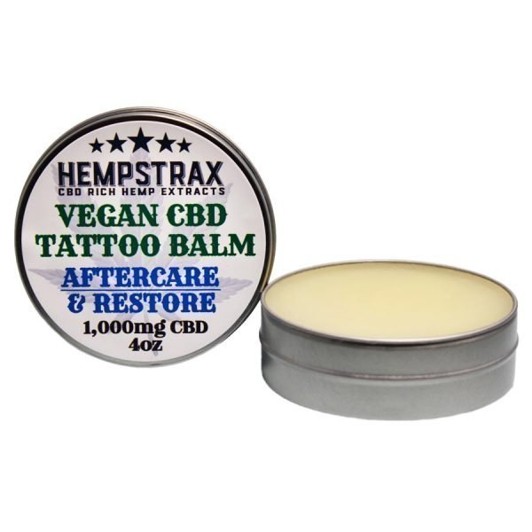 Vegan CBD Tattoo Salve