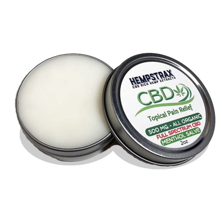 Hempstrax Topical CBD Salve