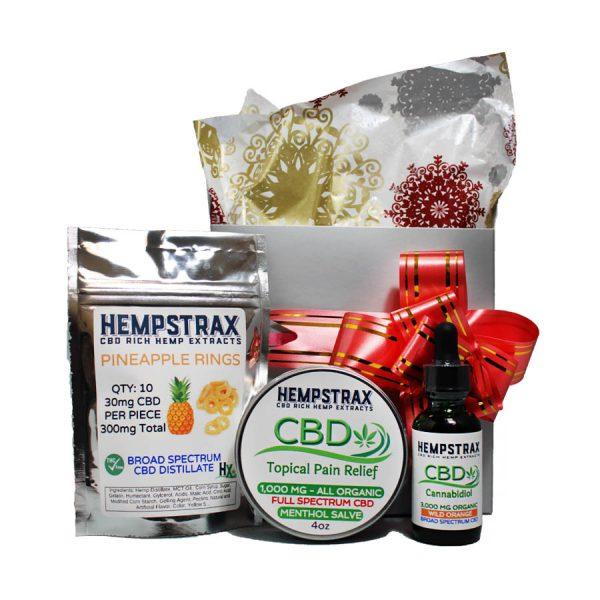 Hempstrax CBD Gift Box