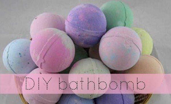 DIY CBD Bath Bomb Recipe