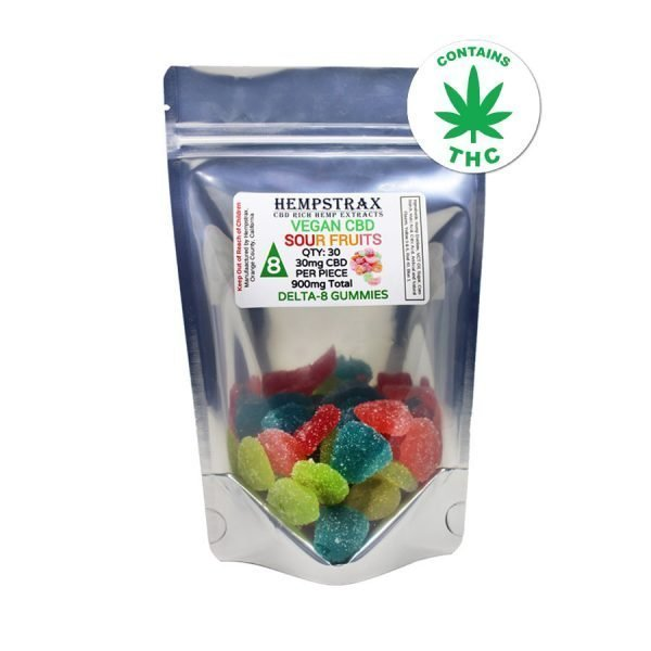 Hempstrax Delta 8 Sour Fruits