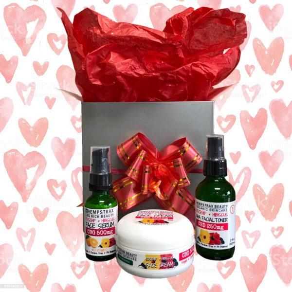 Hempstrax Valentine's Day CBD Gift Box
