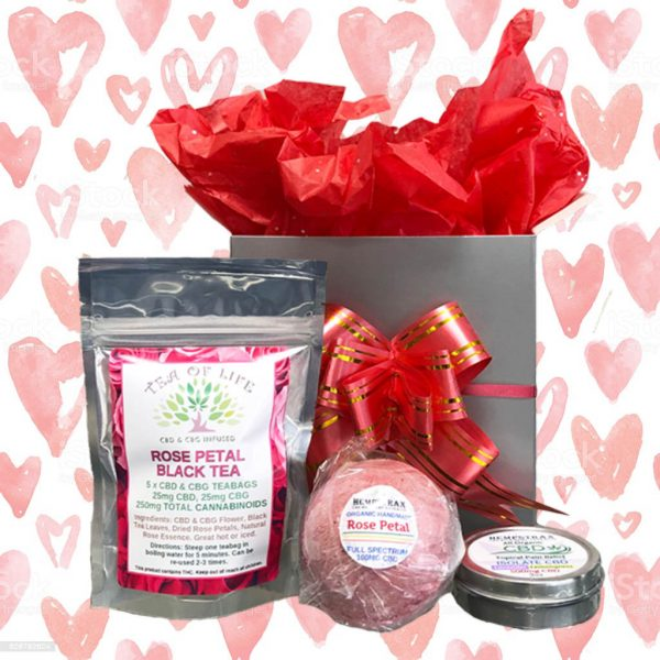 Valentine's Day CBD Gift Box
