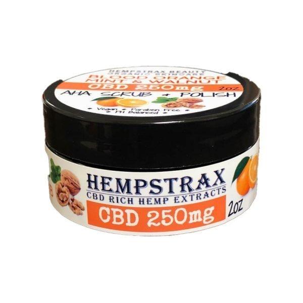 Hempstrax CBD Facial Scrub