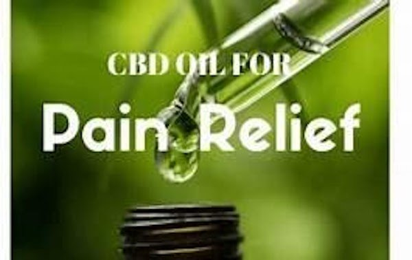 Graphic of CBD Oil Tincture for Pain Relief