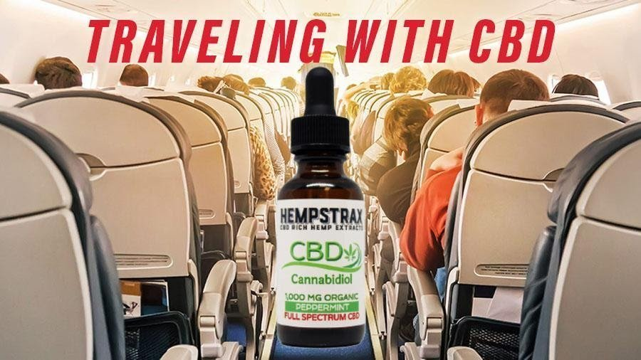 Traveling on flight with CBD products
