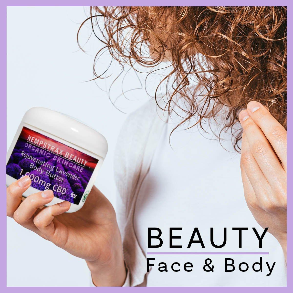 Hempstrax CBD Beauty Products